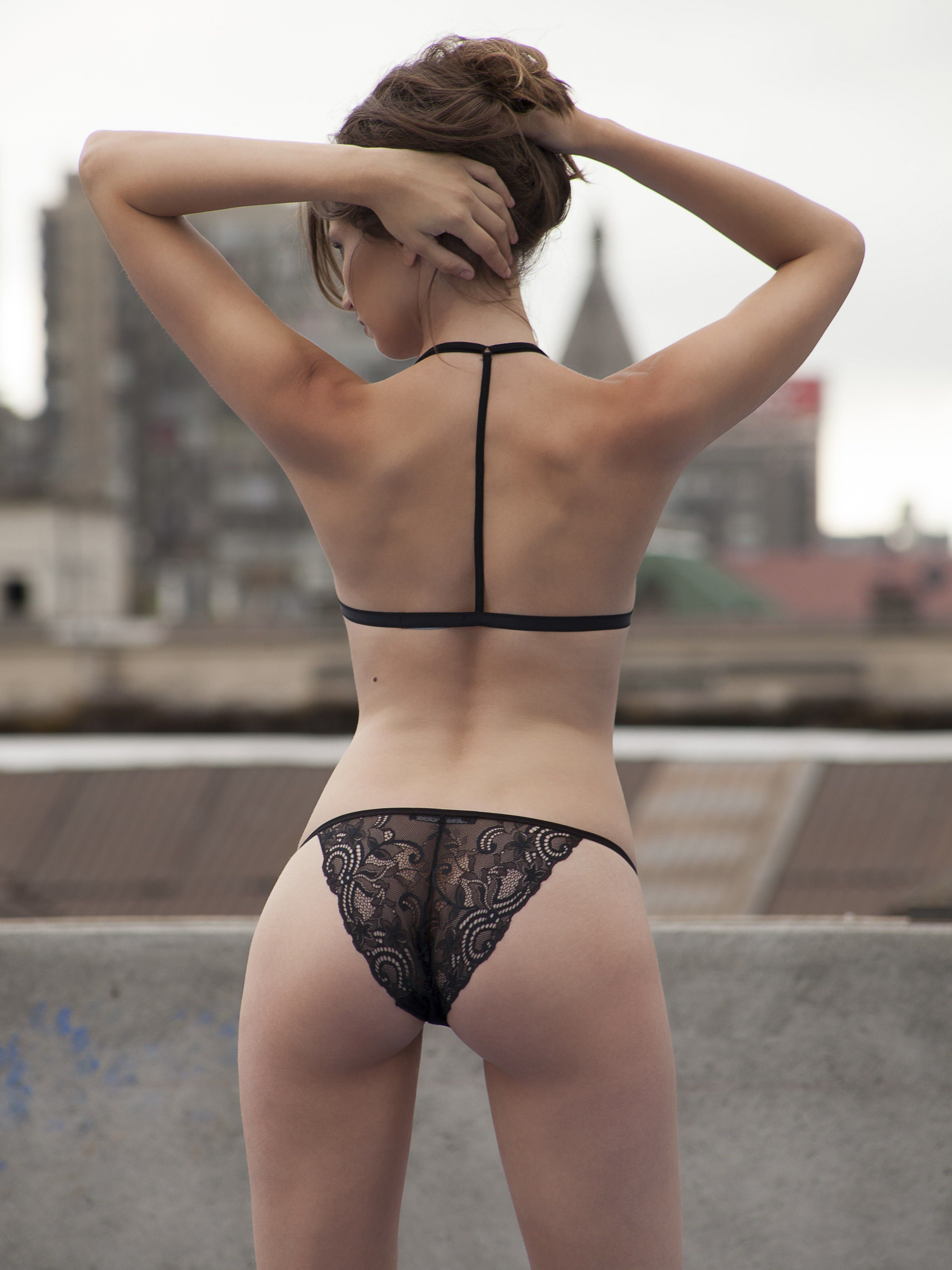 NegroLencería Tanga Chilena Encaje De Mini BikinisSwimwear bf7gY6y