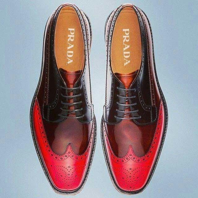 1cc96dad8809e Prada Mens Fashion Wear, Prada Shoes, Lace Up Shoes, Gentleman, Over Knee