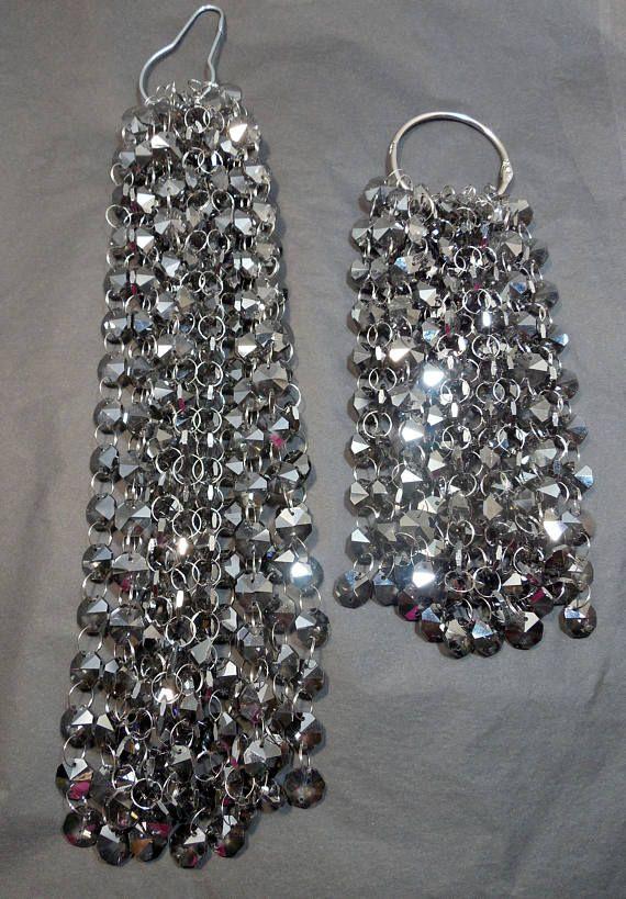 Bulk Chandelier Crystal Strands Bulk Crystals Smokey Silver BULK - Chandelier crystals bulk