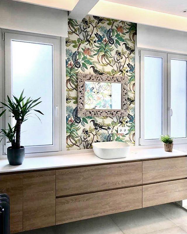 Mueble de baño de diseño Ithaca con tapa y lavabo de ...