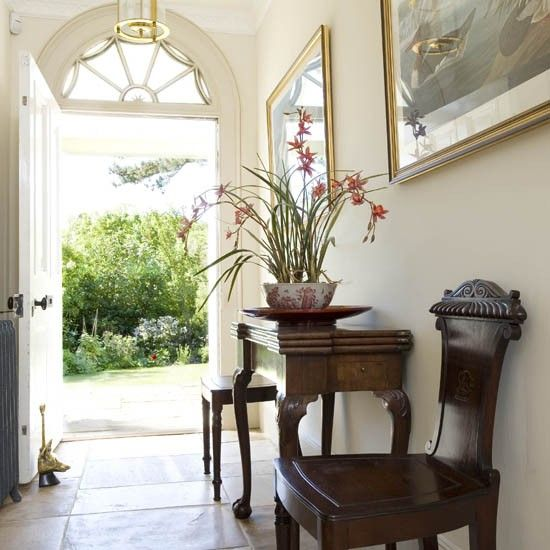Country House Tour 25 Beautiful Homes Ideal Home Hallway Decorating Hallway Wall Colors Hallway Designs
