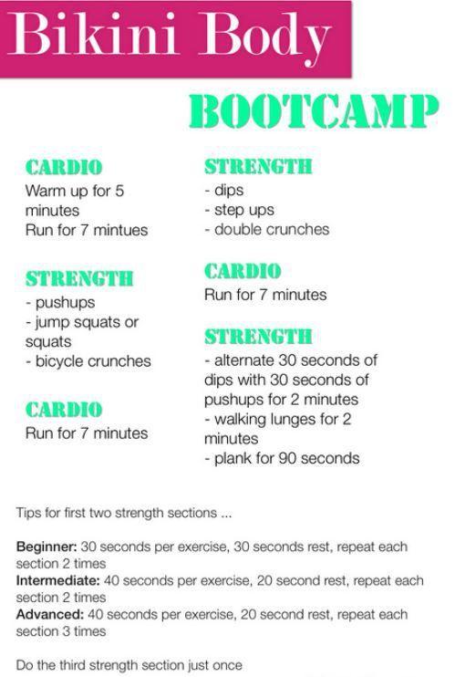 Bikini body bootcamp