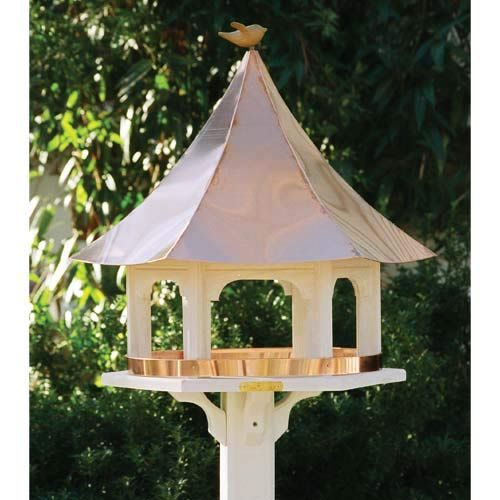 Lazy Hill Carousel Bird Feeder With Copper Roof Bird Houses For Sale Bird Feeders Bird House Plans