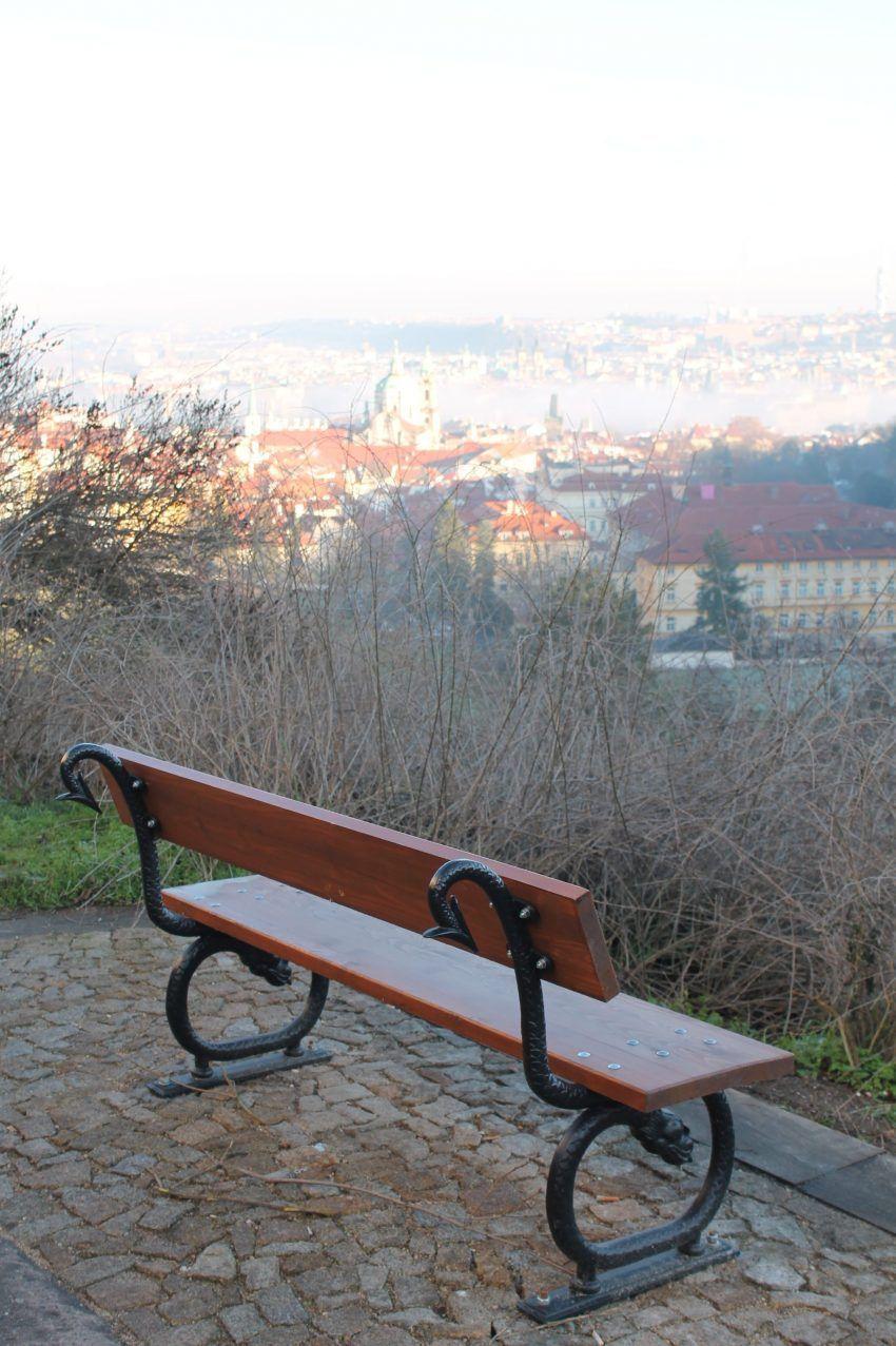 Praag - Uitzicht vanaf de Petrinheuvel