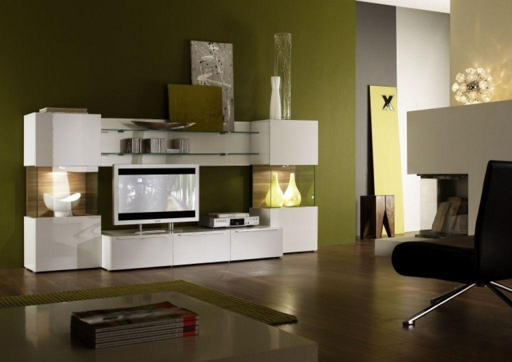 Moderne Wohnzimmer Farben Wohnzimmer Wandfarben 2015 Olivengruen Weisse  Wohnwand Holz Akzente Moderne Wohnzimmer Farben