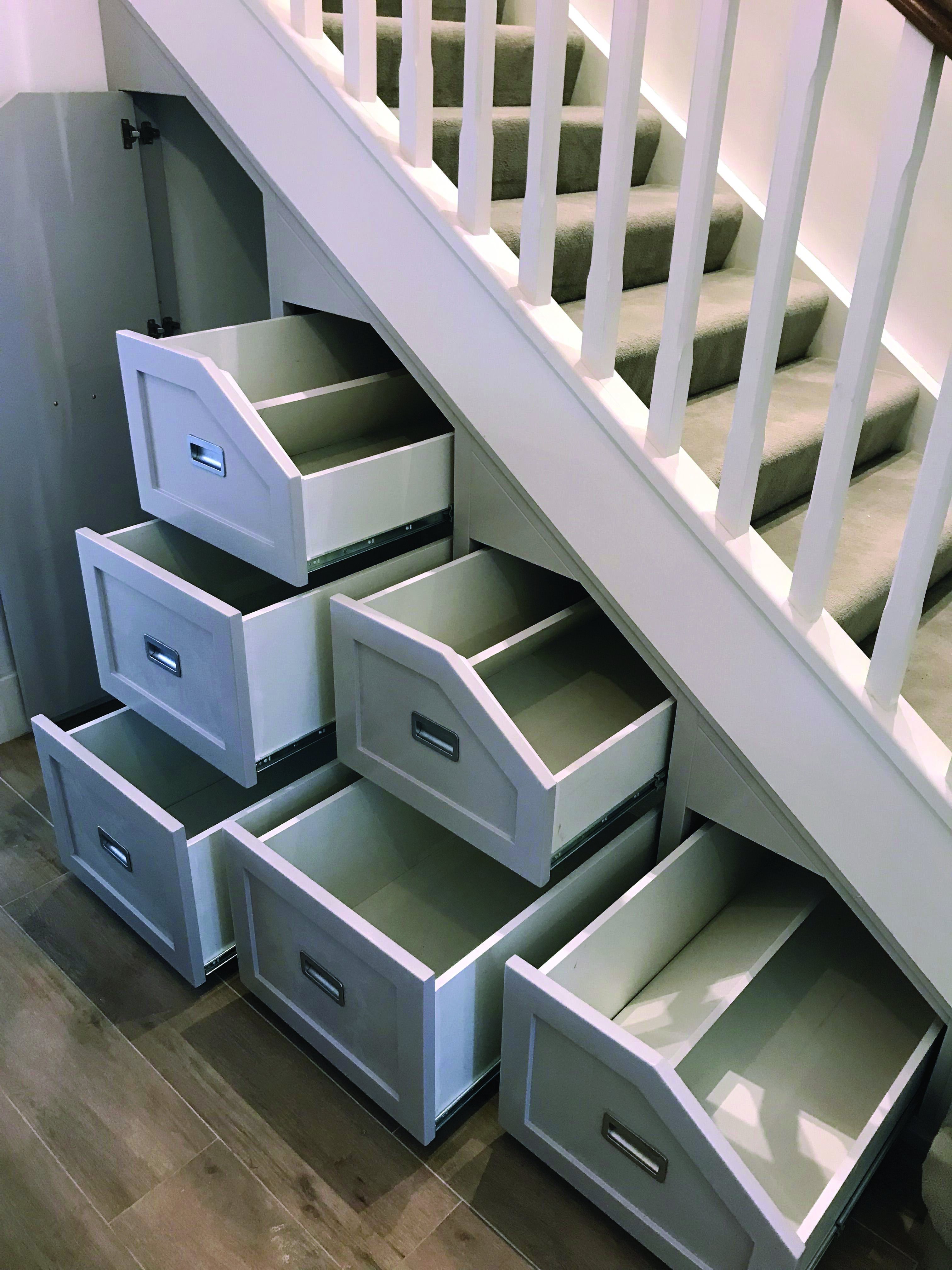 Pin On Under Stairs Storage