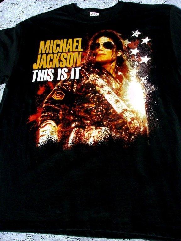 michael jackson shirt ebay