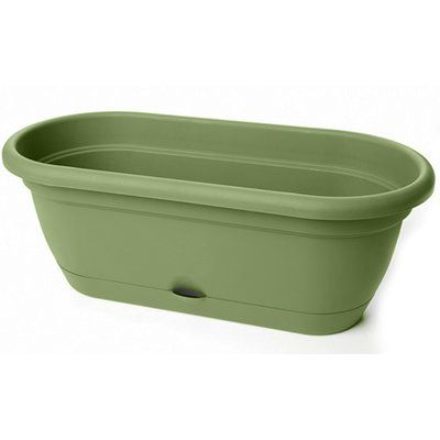 Sol 72 Outdoor Elaina Self Watering Plastic Window Box Planter