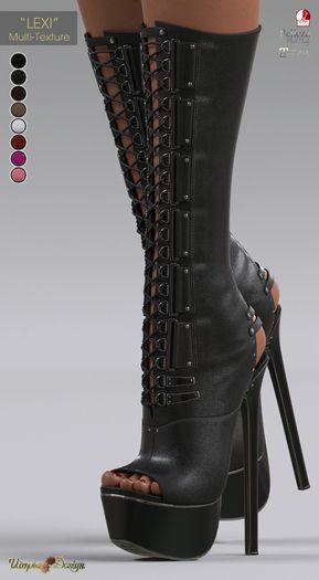 """**UTOPIA@Design** - """"LEXI"""" - Multi-Texture - Maitreya, Slink, Belleza"""