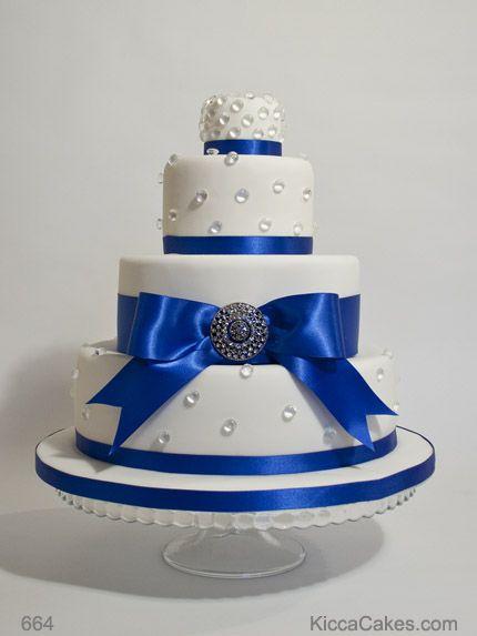 Elegant Wedding Cake Blue Diamond Wedding Cakes Pinterest - Blue cake birthday