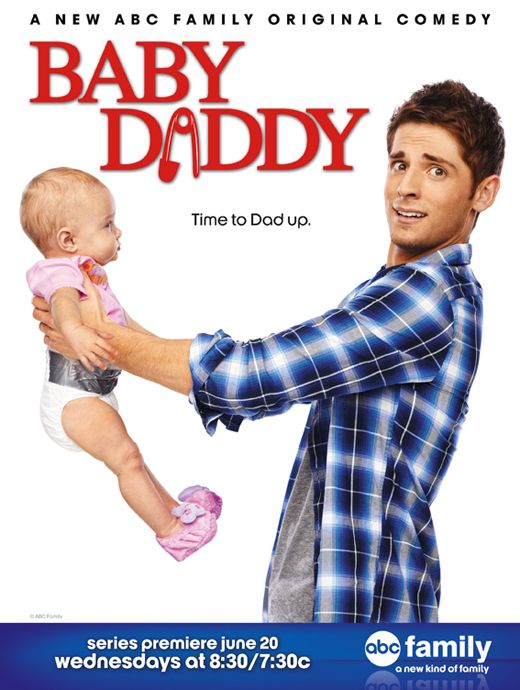 "Check out this exclusive sneak peek look at the poster for ABC Family's new summer comedy ""Baby Daddy,"" premiering Wednesday, June 20 at 8:30 p.m."