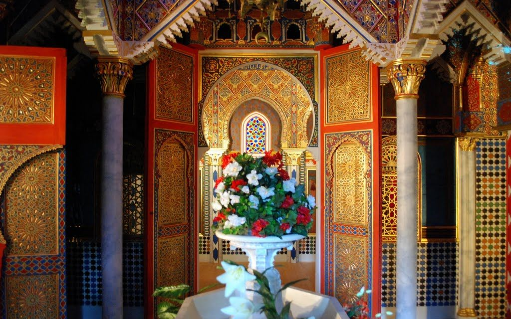 Marokkanisches Haus Linderhof Painting Castle Art