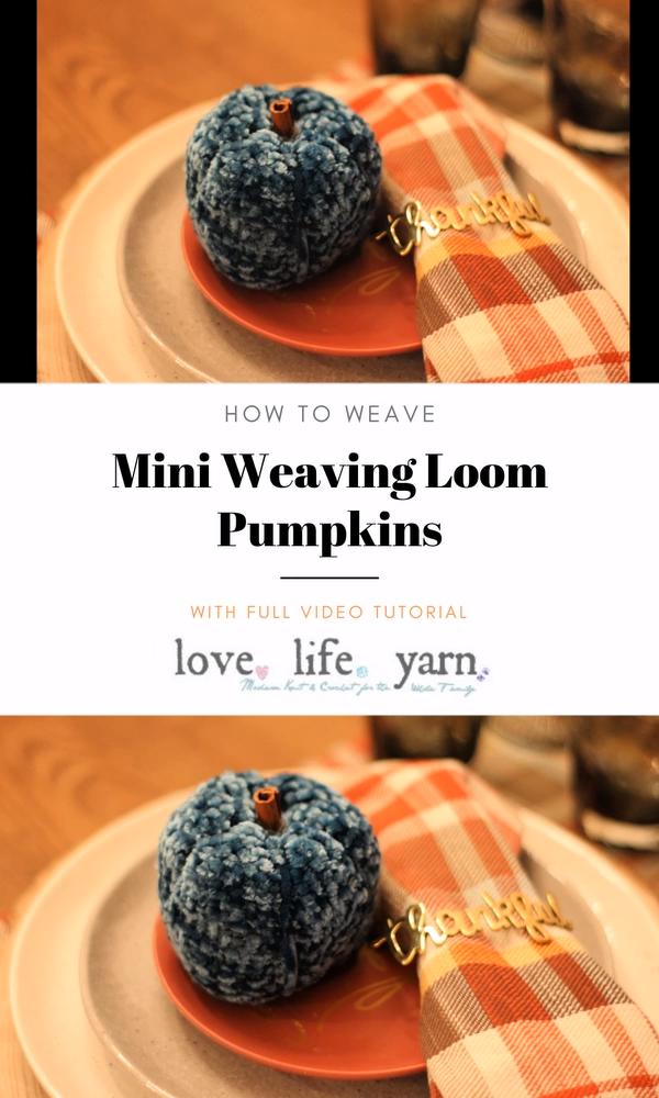 Photo of Mini Weaving Loom Fall Pumpkins