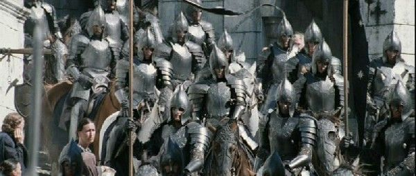Gondorian Soldiers Lord Of The Rings The Hobbit Middle