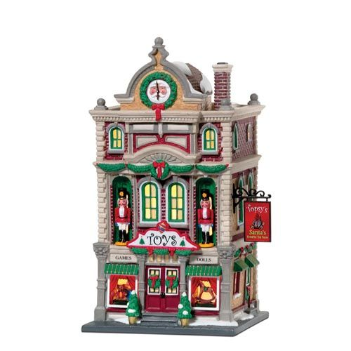 Department 56 - Christmas in the City  - Topsy's Toys
