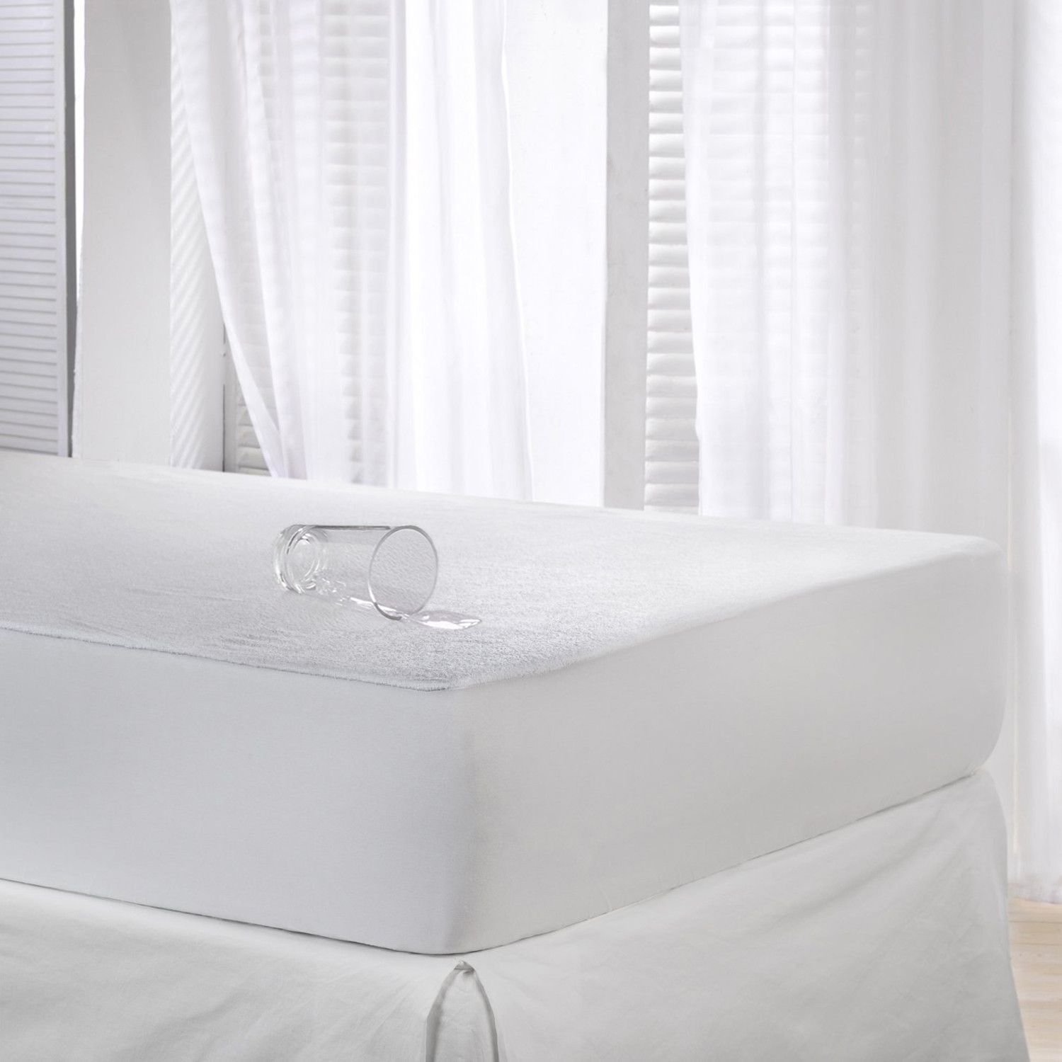 Waterproof Cotton Terry Mattress Protector Mattress