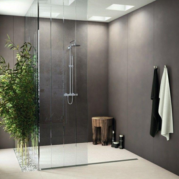 Salle de bain en béton ciré pour un aménagement tendance Mansion