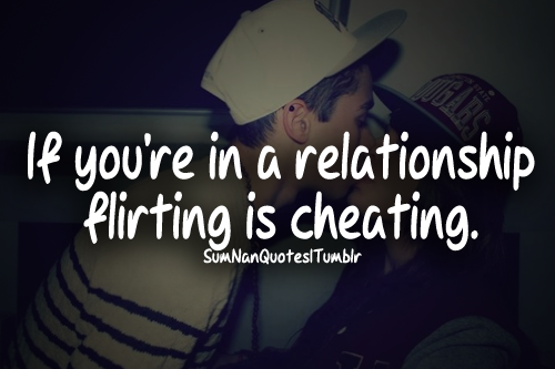 Is Flirting On Dating Sites Cheating