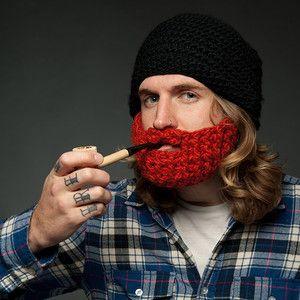 Knitted beard!