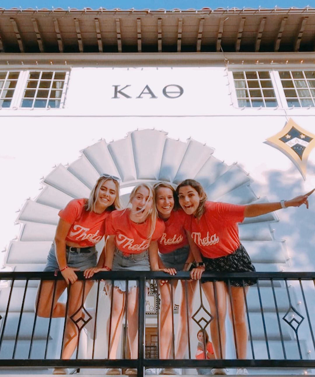 """UCLA Kappa Alpha Theta on Instagram: """"Feeling so lucky that 150 years ago today, Kappa Alpha Theta was founded by four leading women! Happy Founders Day️�"""""""