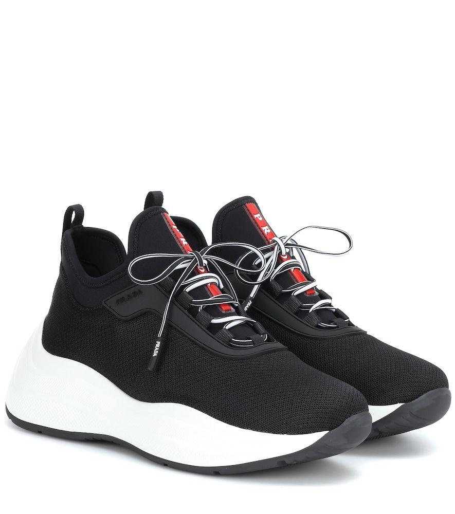 2019 SneakerspradashoesIn And Prada Neoprene Mesh vNwyn8Om0