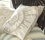 Nautilus embroidered pillow cover from Pottery Barn. Need for the suite!