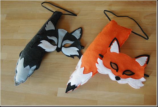 mascaras niños zorros - Buscar con Google