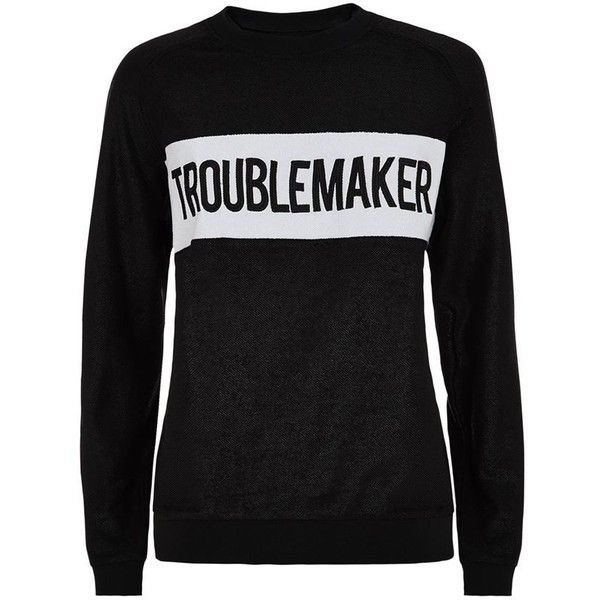 Lend an element of fun to your off-duty repertoire with Zoe Karssen's lurex troublemaker sweater.  Crafted with the finest cotton, it boasts a glamorous metall…