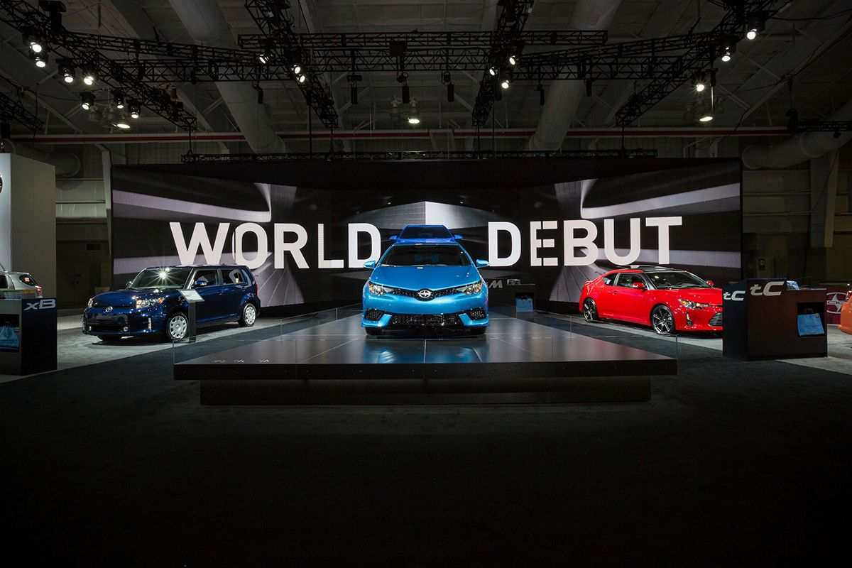 SCION at the New York International Auto Show on Behance