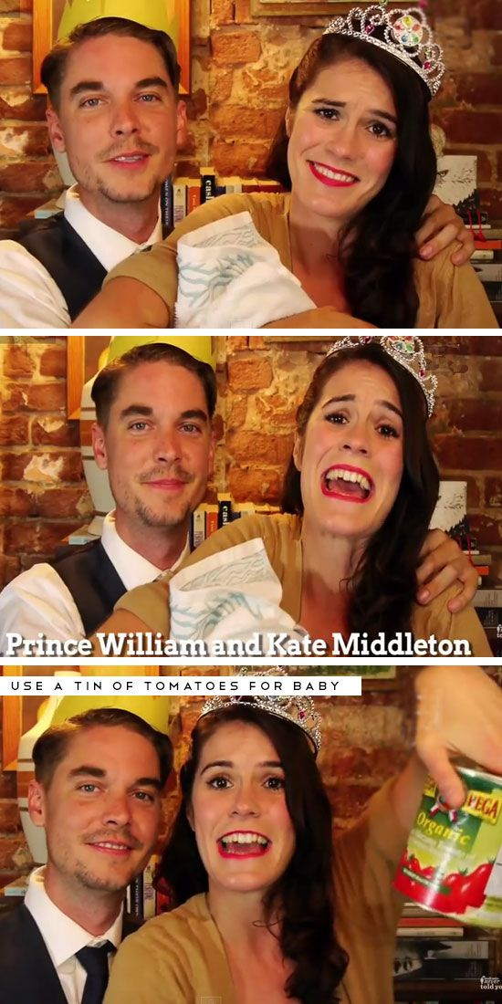 Prince William + Kate Middleton Click Pic for 26 DIY Halloween - last minute halloween costume ideas for women