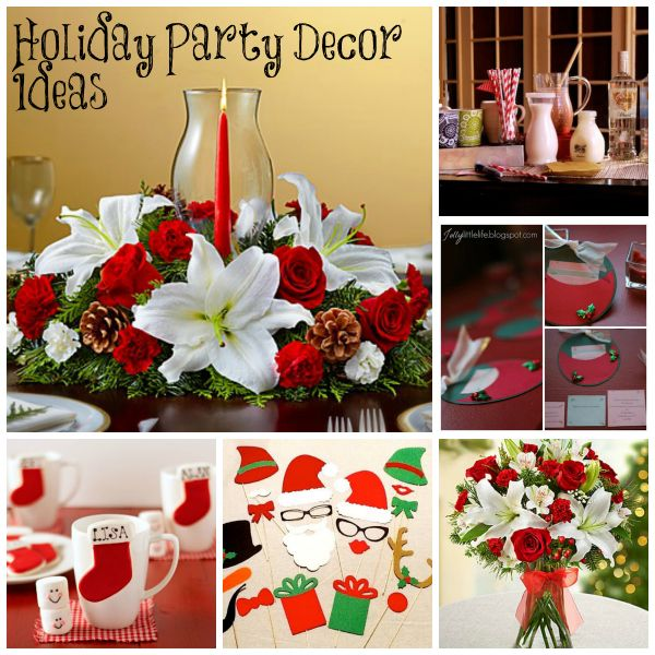 Fun and Easy Holiday Party Decor Ideas