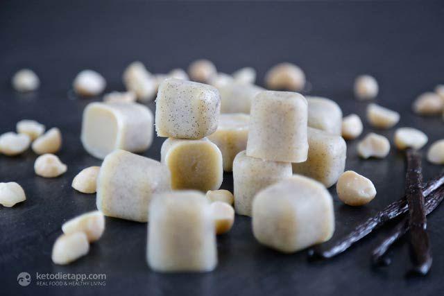 The KetoDiet Blog | Easy Vanilla Fat Bombs