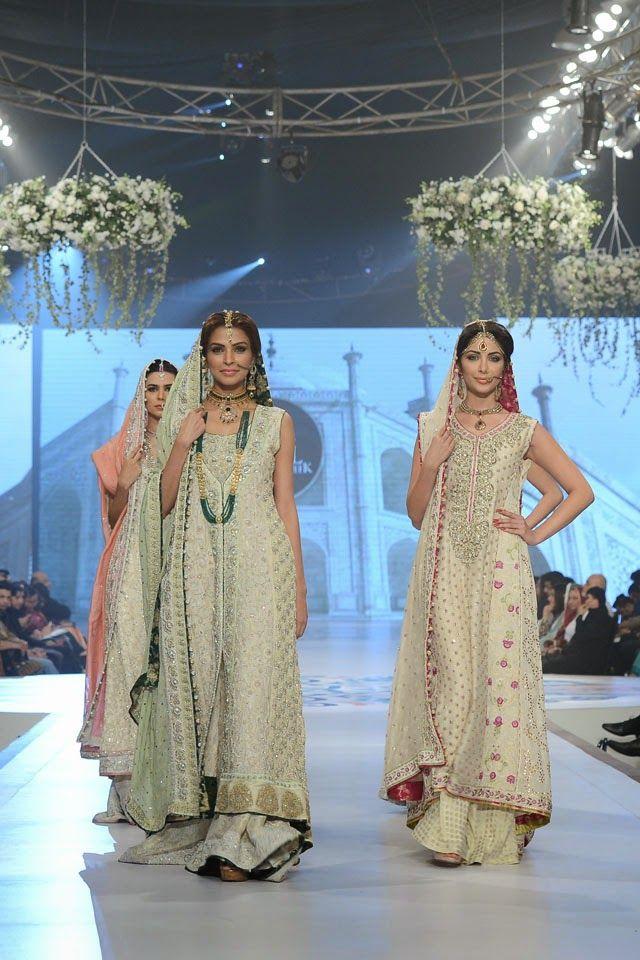 Fashion: Sana Abbas Bridal Collection at Pantene Bridal Couture Week 2014