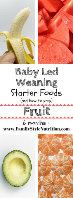 Baby led weaning starter foods 6months pinterest led weaning the best starter foods for your baby 6months using the baby led weaning approach to infant feeding and all the info on how to prep them forumfinder Gallery