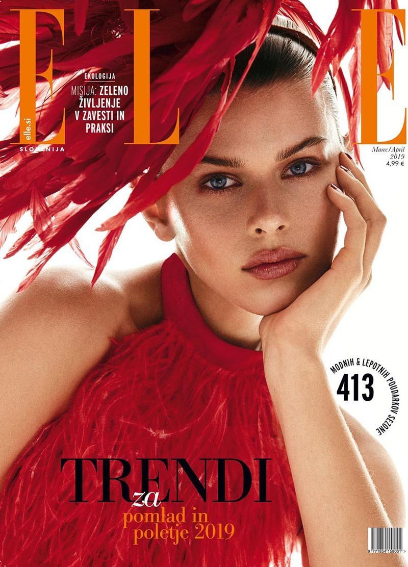 Fowler Models Statement Styles for ELLE Slovenia