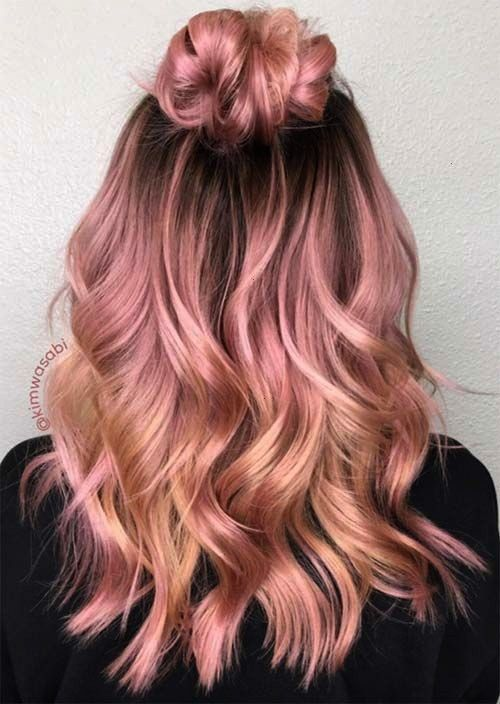 Charming Rose Gold Hair Colors: How To Get Rose Gold Hair - Latest Hairstyles bob hairstyles | hair