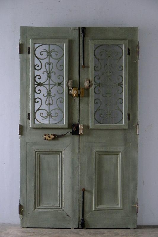 商談中 Antique Double Door フレンチアンティーク ダブルドア