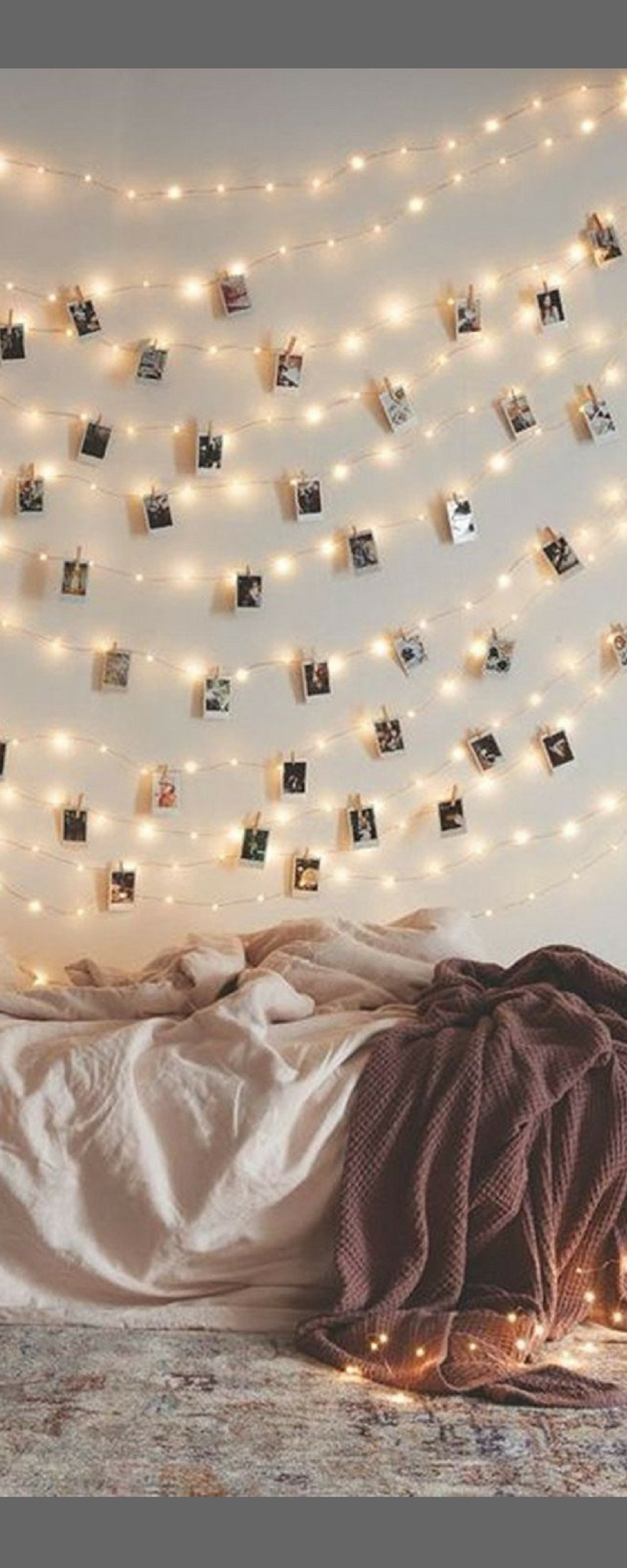 Bohemian. LED Photo Clip String Lights Home Decor Indoor/Outdoor ...