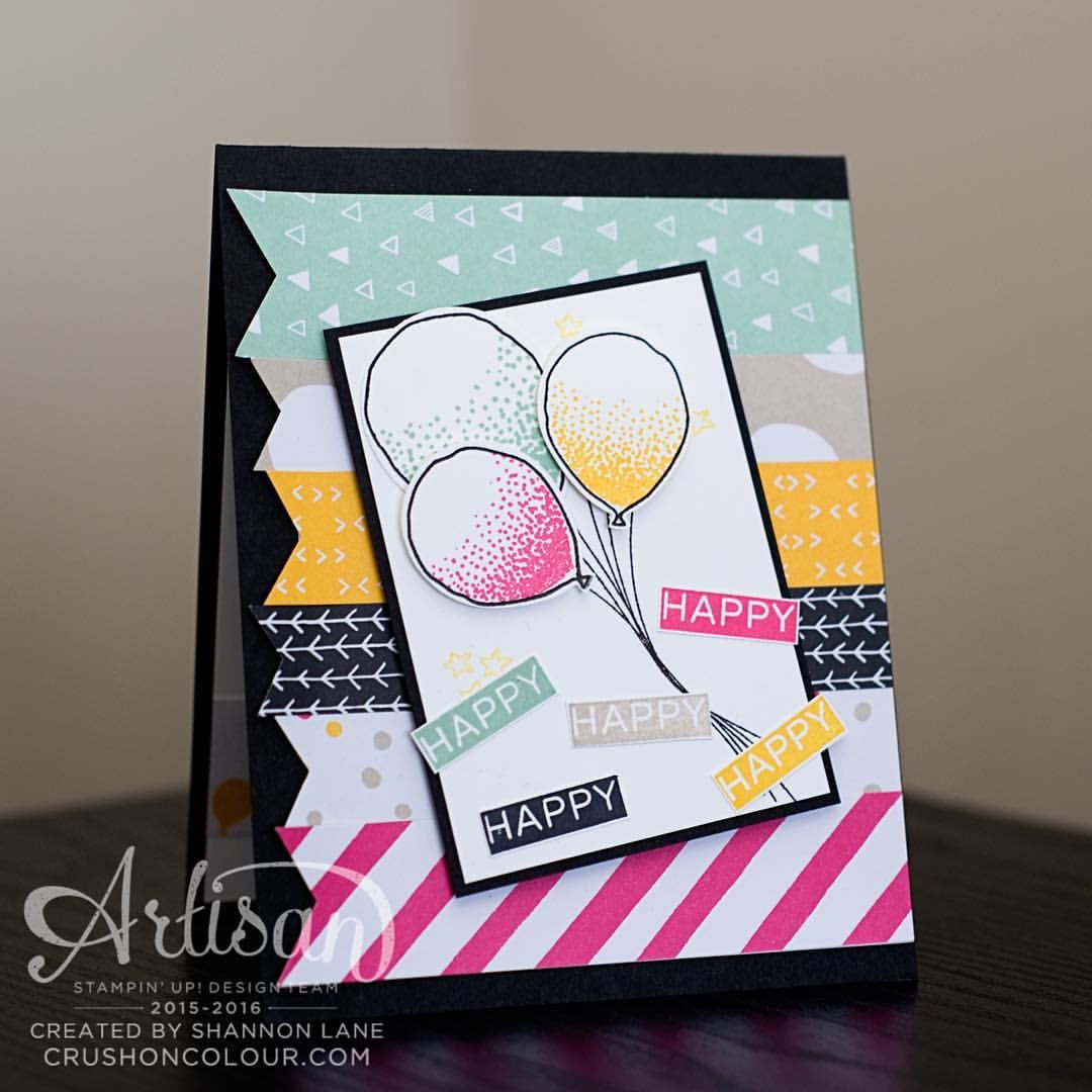 Happy happy such a fun and easy birthday card on the blog easy birthday cards kristyandbryce Gallery