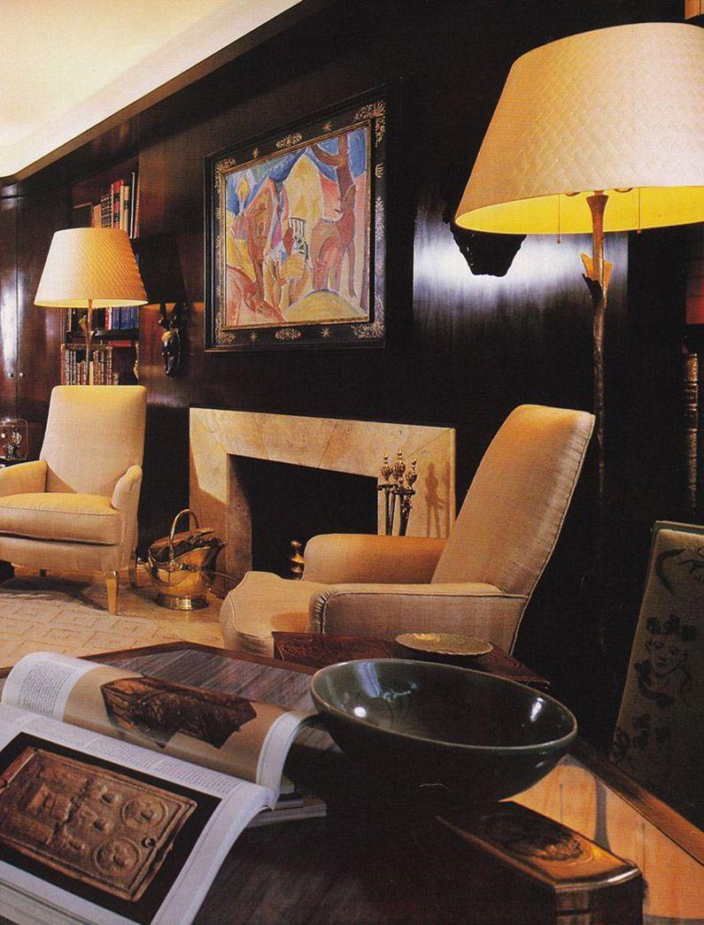 Albert Hadley Timeless Designer  Albert Hadley Mercerschoolid  Salon