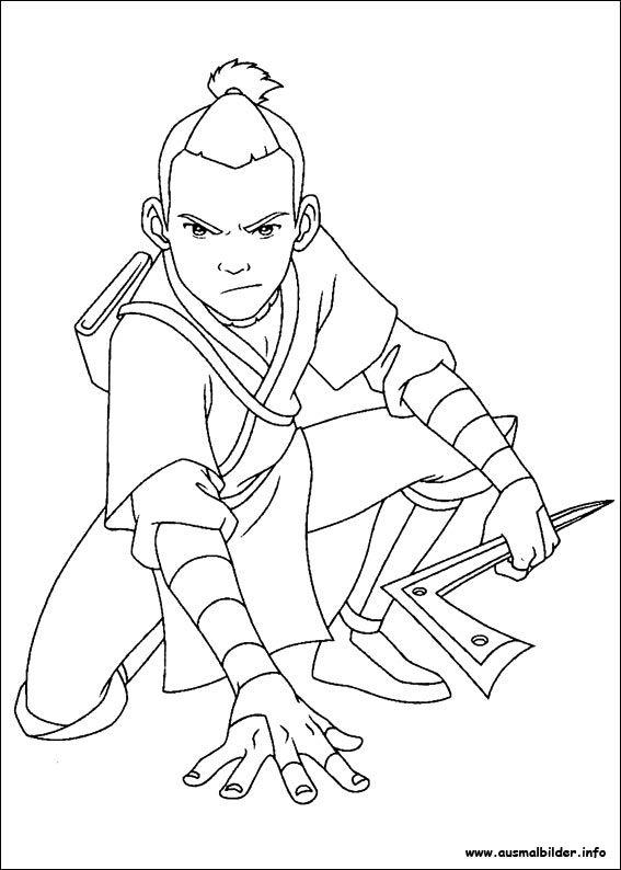 Avatar, der Herr der elemente malvorlagen | Avatar Herr der Elemente ...