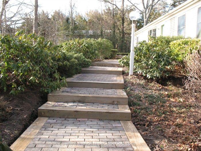 Best New Landscape Timber Steps Landscape Timbers Garden 640 x 480