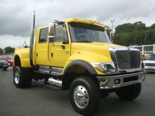2005 International Cxt American Pick Up Crew Cab 4x4 7 6 Diesel Auto