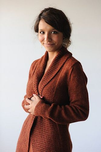 Autumnal Cardigan pattern by Hannah Fettig | Sweaters ...