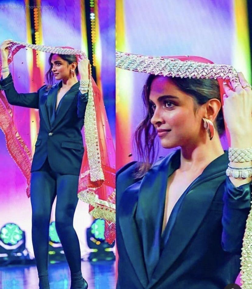 Deepika Padukone Dances On Ghoomar At Mirchi Music Awards ...