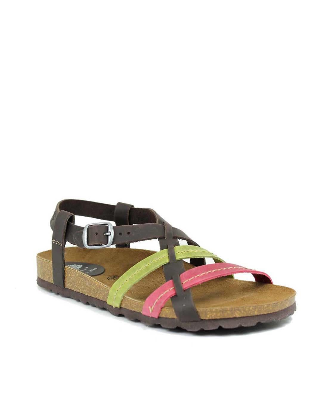 bda5f2a22058 Sandalias planas INTER BIOS multicolor 7178 Flat Sandals