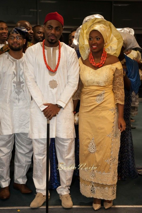 Bellanaija Bride Antonia Groom Stanley Igbo Traditional Wedding Remi Benson Fdan