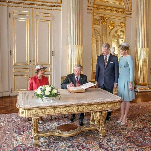 German State visit to Belgium - Day 1