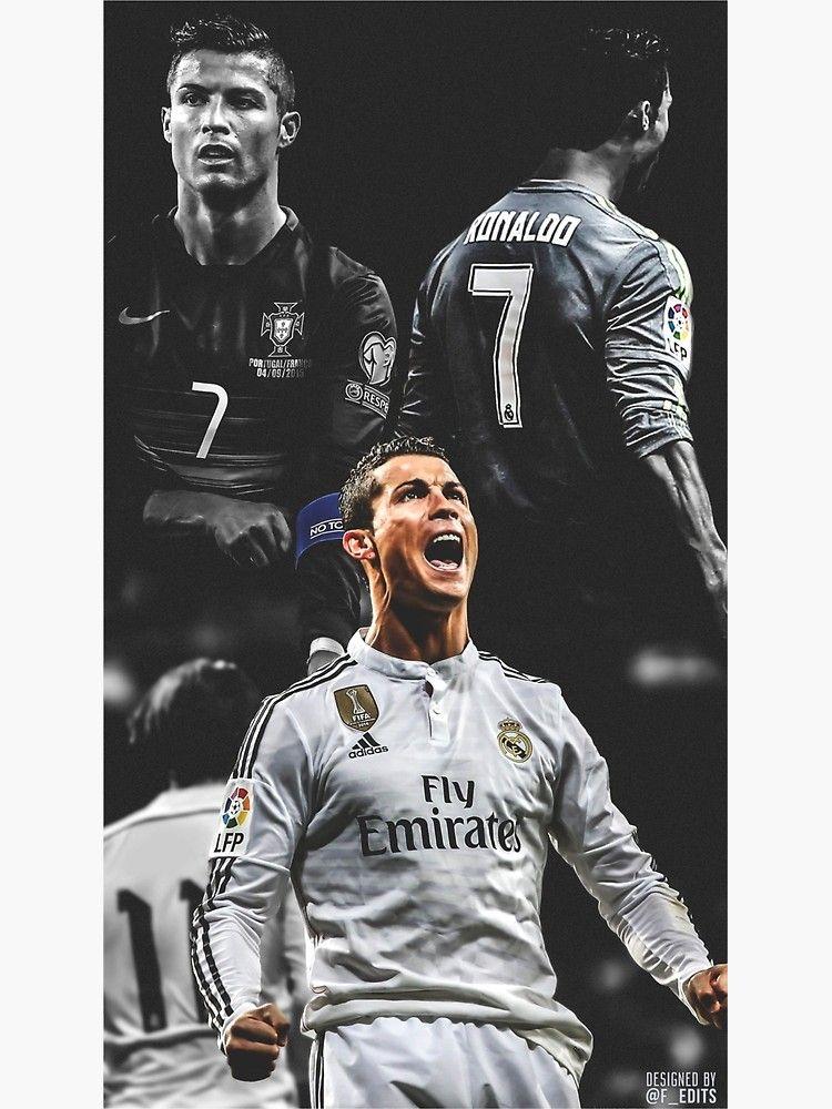 Cristiano Ronaldo Canvas Print By Varioo Ronaldo Wallpapers Cristiano Ronaldo Wallpapers Ronaldo Football