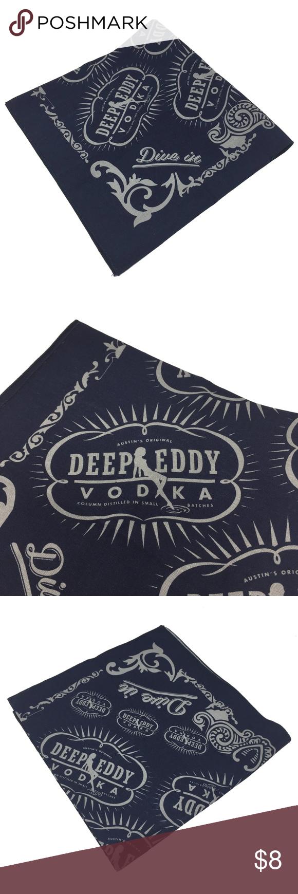 NEW Deep Eddy Vodka Bandana Blue